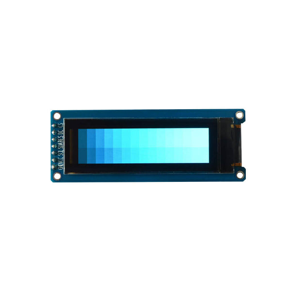 "2.08"" 256x64 Monochrome Graphic OLED Display Module - SPI"