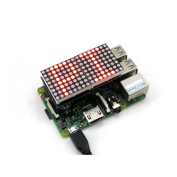 Digital RED LED Matrix for Raspberry Pi