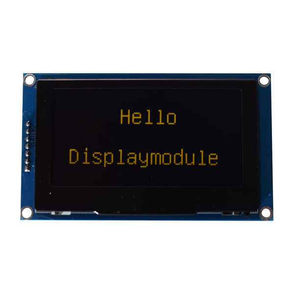 "2.7"" 128x64 Morochrome Graphic OLED Display Module-SPI"