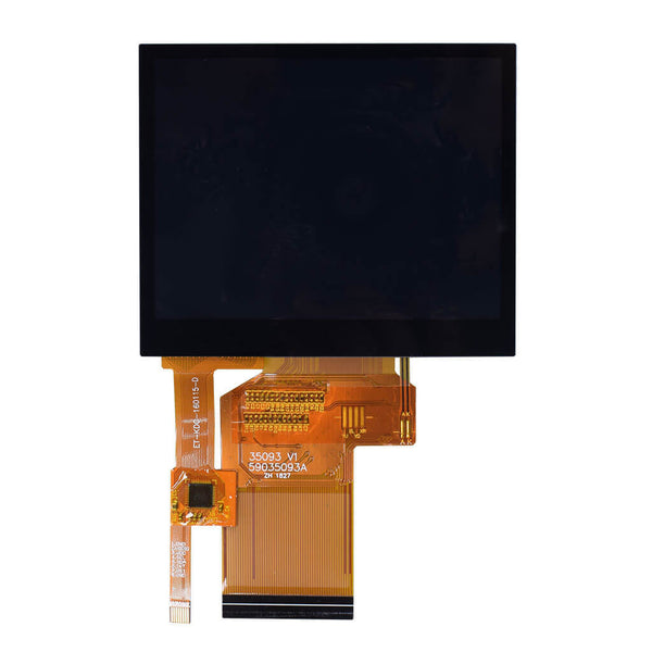 "3.5"" IPS 320x240 Display Panel With Capacitive Touch - RGB"