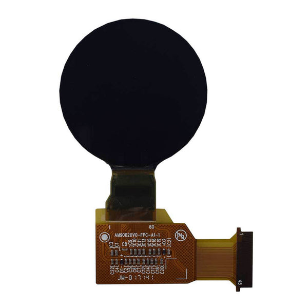 "1.3"" 360 X 360 FULL COLOR ROUND AMOLED DISPLAY PANEL-MIPI"