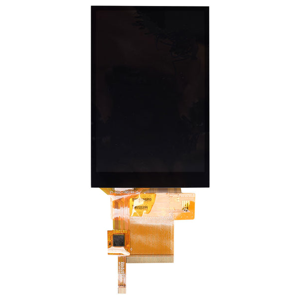"4.0""  320x480 Display Panel with Capacitive Touch - SPI, MCU, RGB"