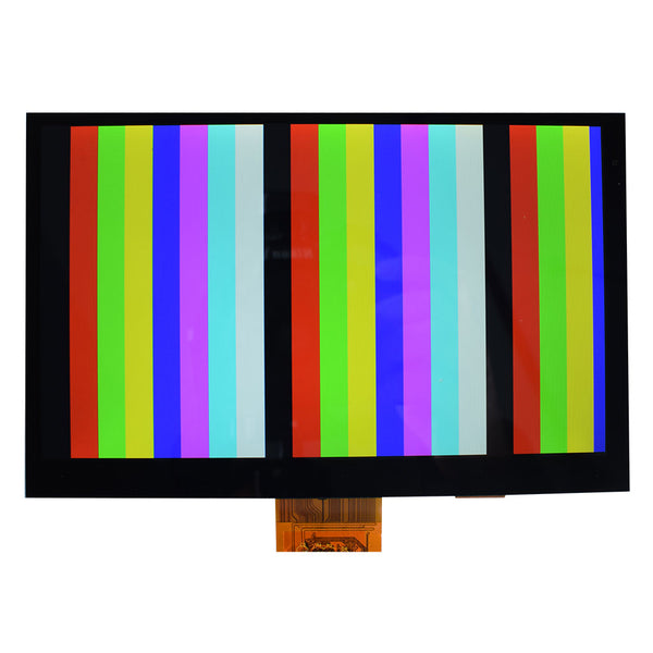 "7"" 1024x600  Display with 10 points Capacitive Touch (USB Touch Interface)-LVDS"