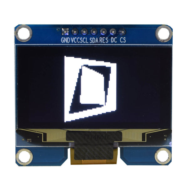 "1.54"" 128x64 Monochrome Graphic OLED Display Module - SPI"
