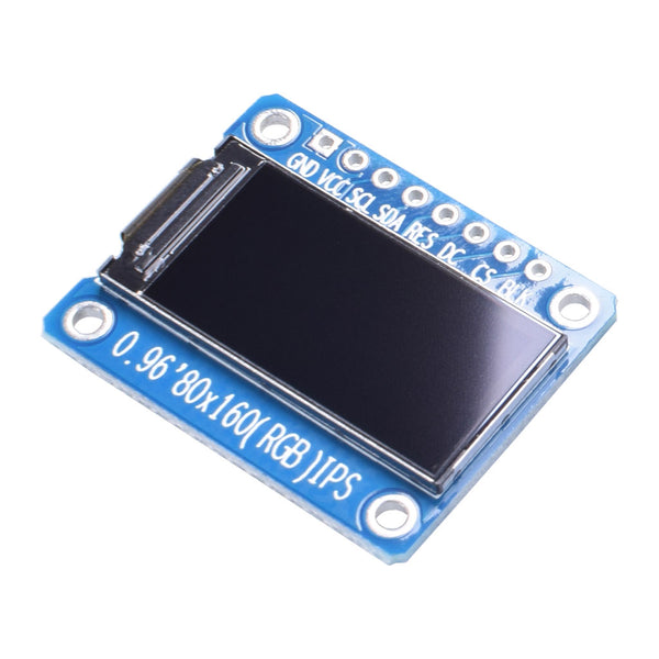 "0.96""  80x160  IPS TFT  Display Module - SPI"