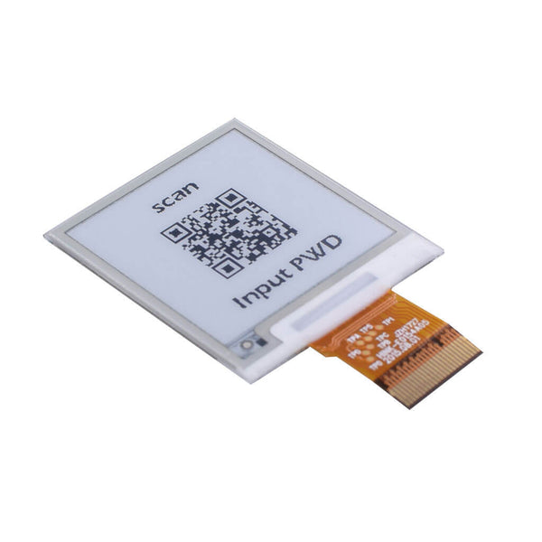 "1.54"" 200 x 200 SPI E-Ink  - Black and White"