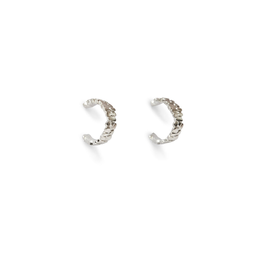 The Saint Michele Hoops - Silver