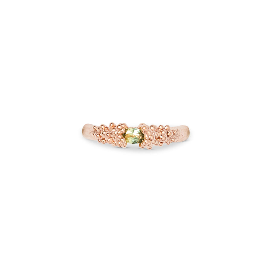 The Floating Stones Ring - Gold