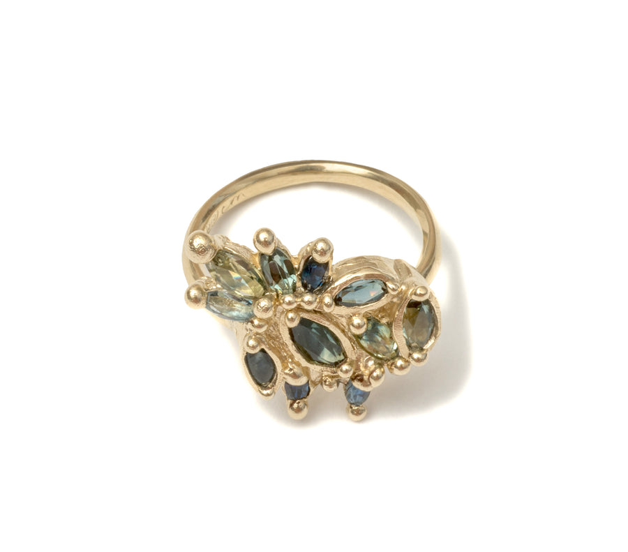 The Dona Ring - 9ct Gold.