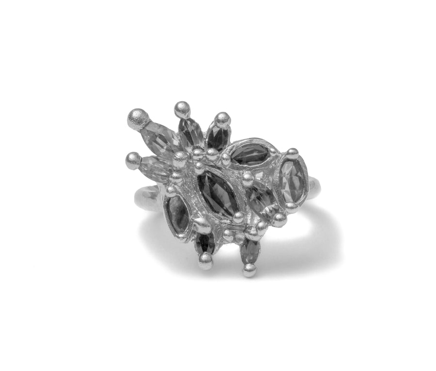 The Dona Ring - Sterling silver