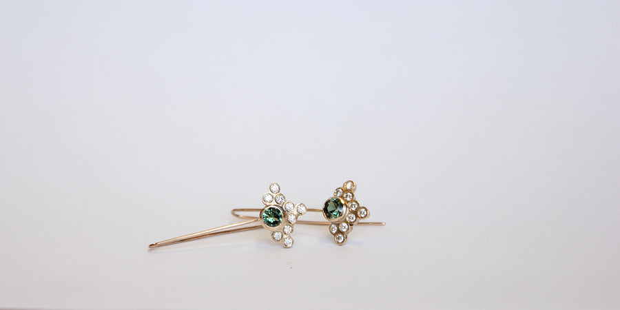 Marguerite earrings