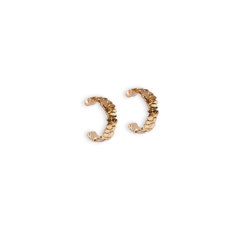 The Saint Michele Hoops - Gold