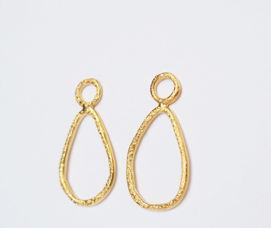 Jettison Tear drops - gold plated