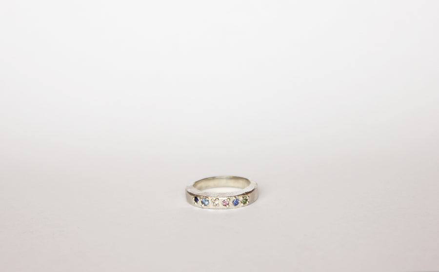 Luna Stack Ring Oval