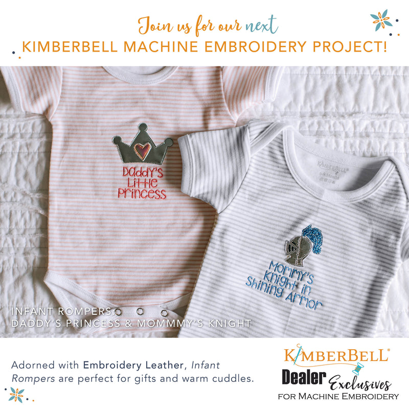Kimberbell Exclusive Infant Rompers