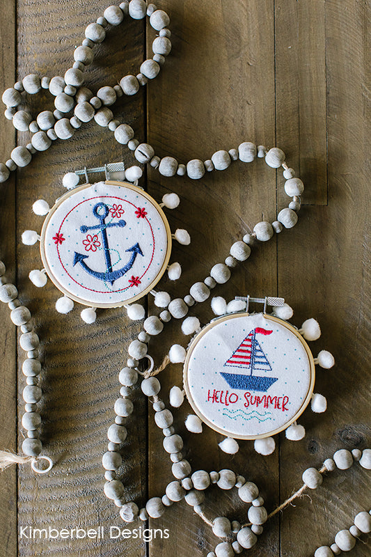 Kimberbell Shop Exclusive Nautical Hoops