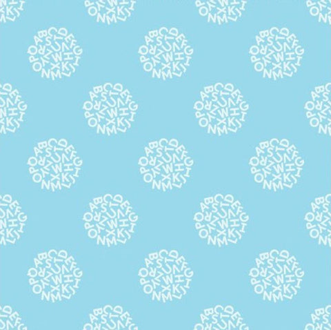 Animal ABCs Light Sky Blue