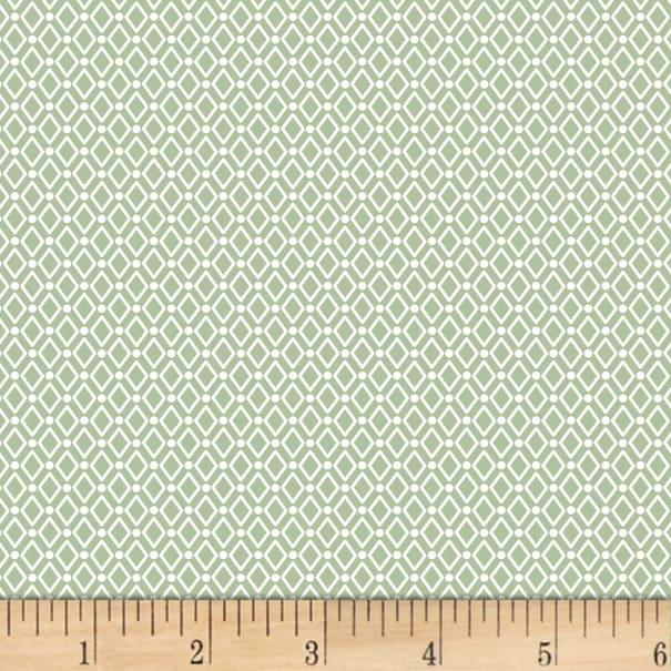 Duo Mini Triangles - Soft Green