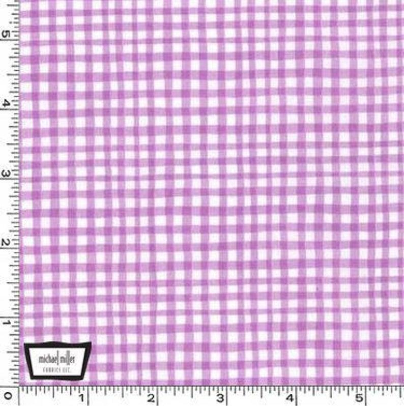Gingham Play Lavendar