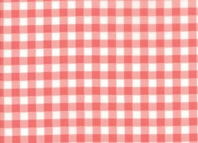 Vintage Holiday Pink Check