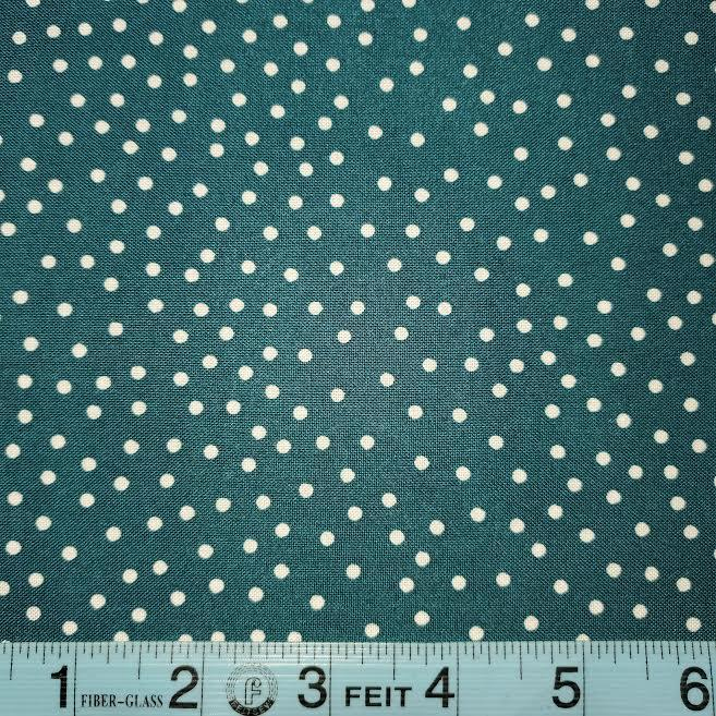 Dot Mania Dark Teal