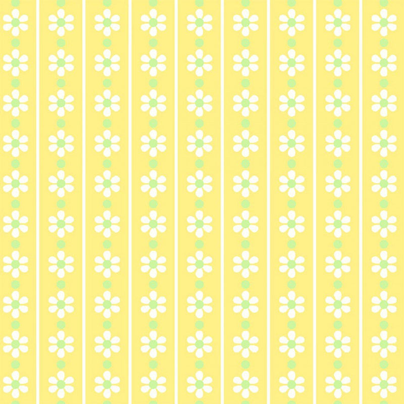First Blush - Yellow Daisy Stripe