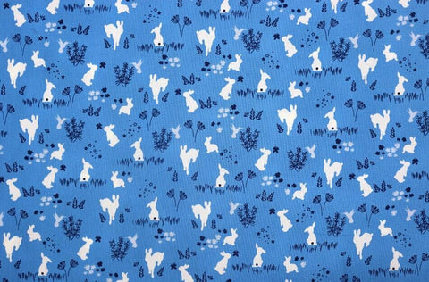 Frolic - Bree Bunnies on Blue