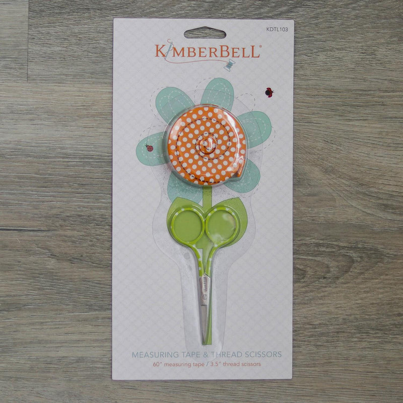 Kimberbell Measuring Tape and Thread Scissors