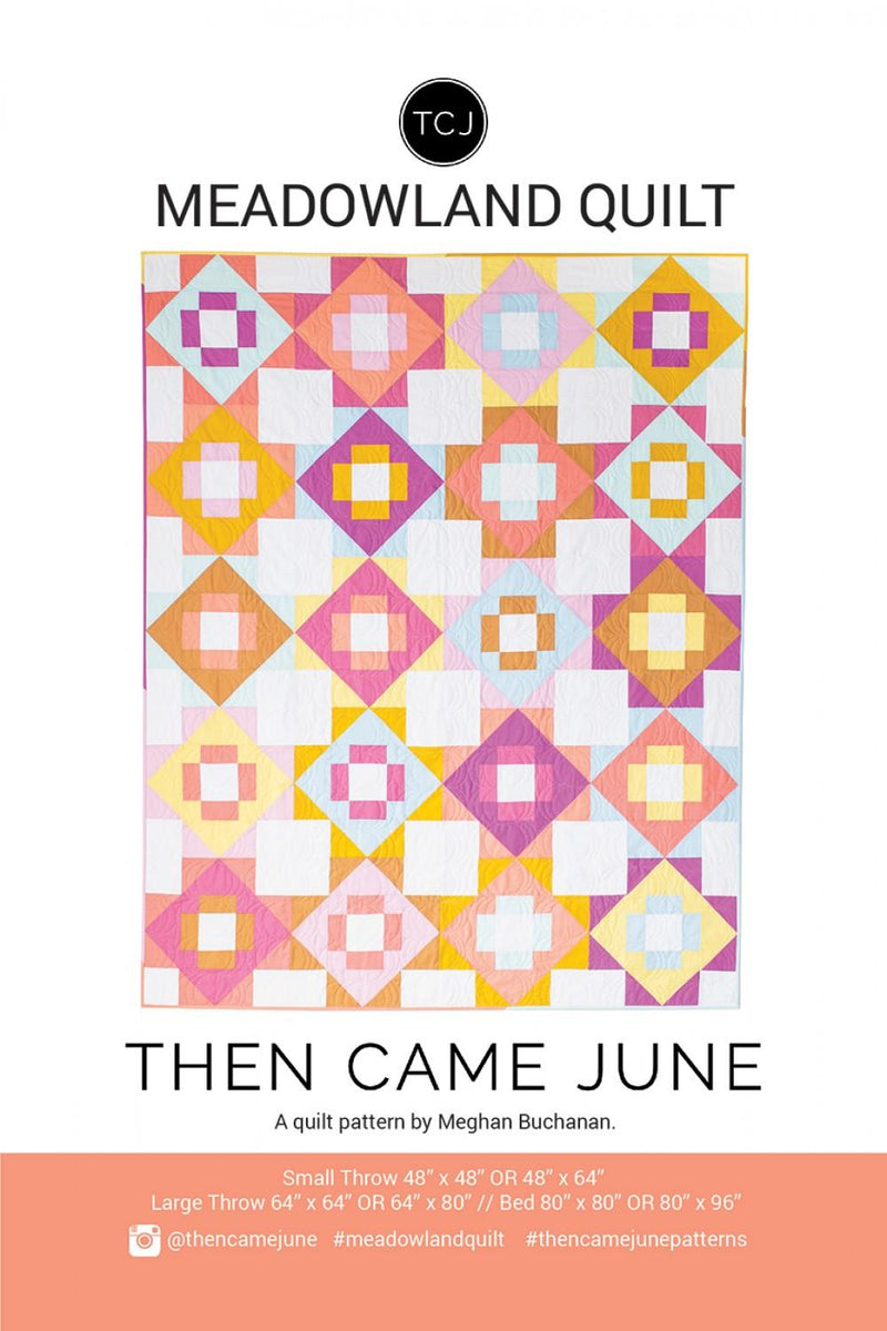 Meadowland Quilt by Then Came June