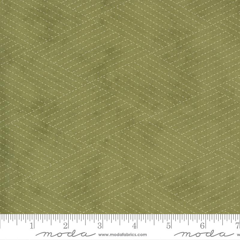 Mill Creek Garden - Diamond Stitches Green