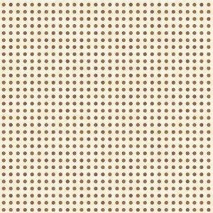 What's the Scoop? - Beige with Brown Dots