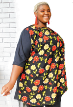 Load image into Gallery viewer, Pullover Floral Top