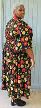 Load image into Gallery viewer, Beautiful Floral Wrap Dress