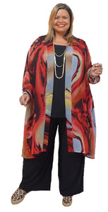 Chic Plus Size Duster