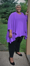 Load image into Gallery viewer, Purple Swing Dress