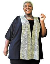 Load image into Gallery viewer, Fabulous Python Print Plus Size Jacket