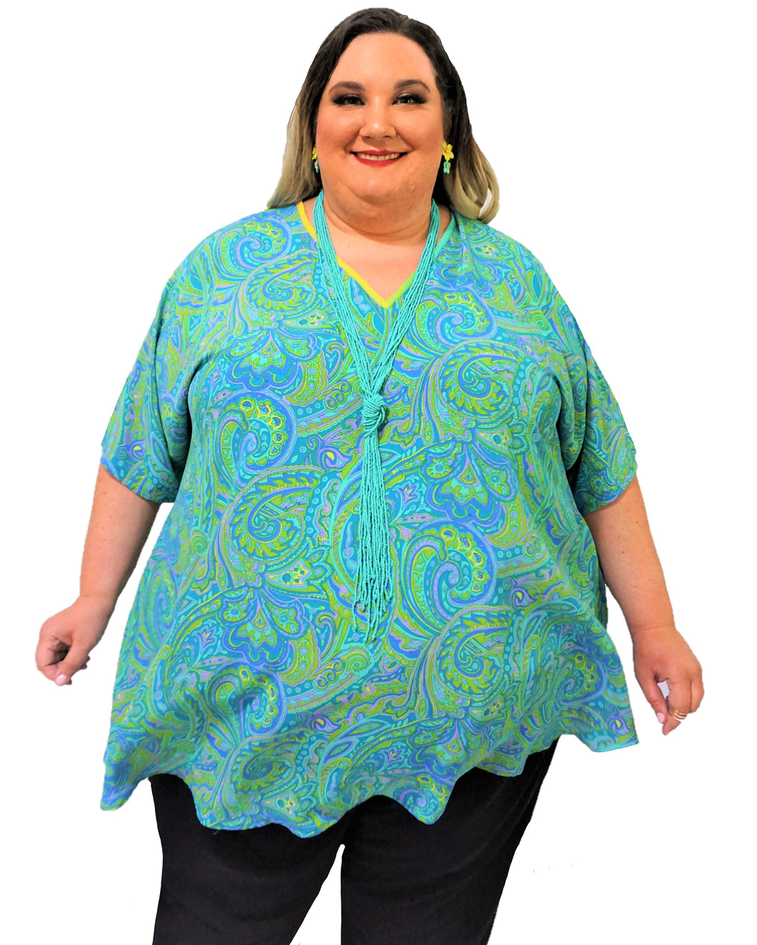 Paisley Swing Top