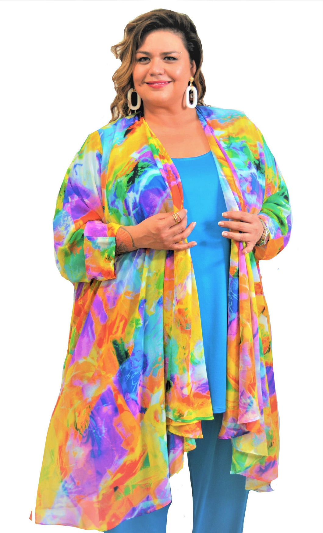 Enchanting Floral Duster