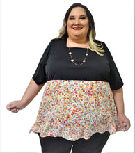 Load image into Gallery viewer, Empire Plus Size Top