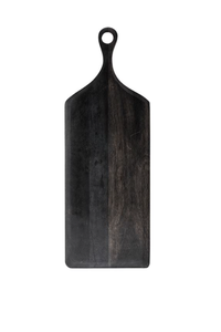 Long Black Cutting Board