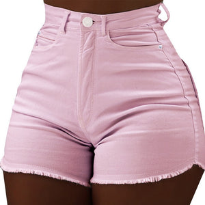 CALOFE Female Shorts Jeans Sexy Demin Casual