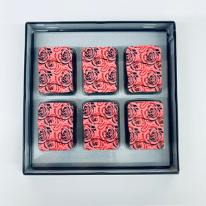 Valentines Limited Edition Raspberry & Rose chocolates *vegan