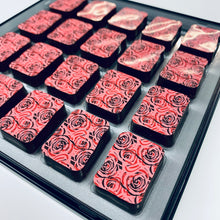 Load image into Gallery viewer, Valentines Limited Edition Raspberry & Rose chocolates *vegan