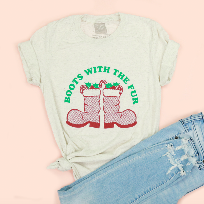 Boots With The Fur Adult Unisex Tee