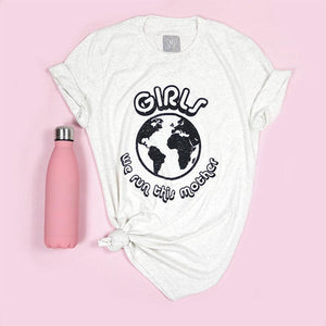 Girls We Run This Mother Adult Unisex Tee
