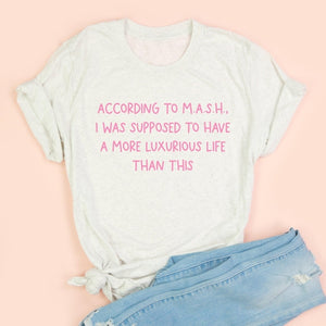 M.A.S.H. Adult Unisex Tee