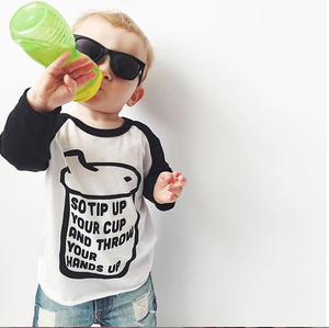 Tip Up Your Cup Kids Tee
