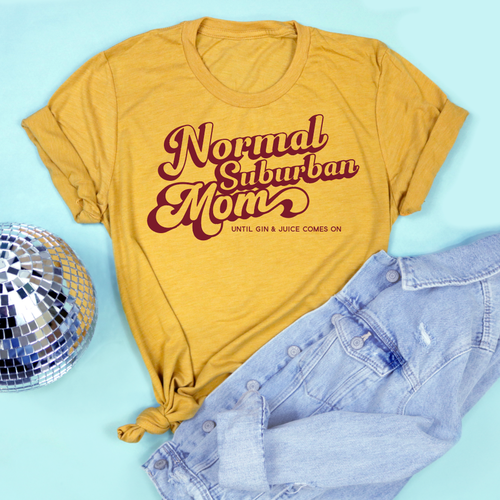 ea510818 Normal Suburban Mom Adult Unisex Tee – Saturday Morning Pancakes