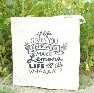 If Life Gives You Lemonade Tote Bag