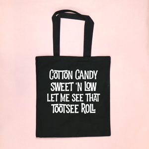 Glow-In-The-Dark Cotton Candy Halloween Tote